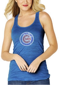 Chicago Cubs Womens Multi Count Tank Top - Blue