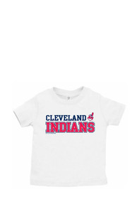 Cleveland Indians Infant Jersey T-Shirt - White