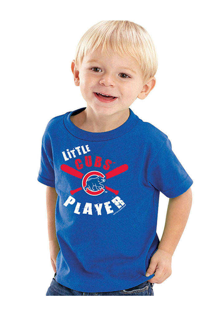 Chicago Cubs Toddler Blue Cutest Catch Short Sleeve T-Shirt - Image 1