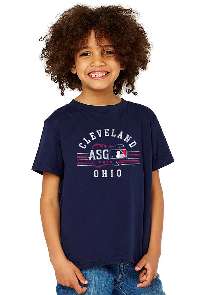 Cleveland Youth 2019 All-Star Game Short Sleeve Tee - Navy Blue - Image 1