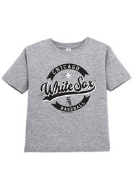 Chicago White Sox Toddler Fly Ball T-Shirt - Grey
