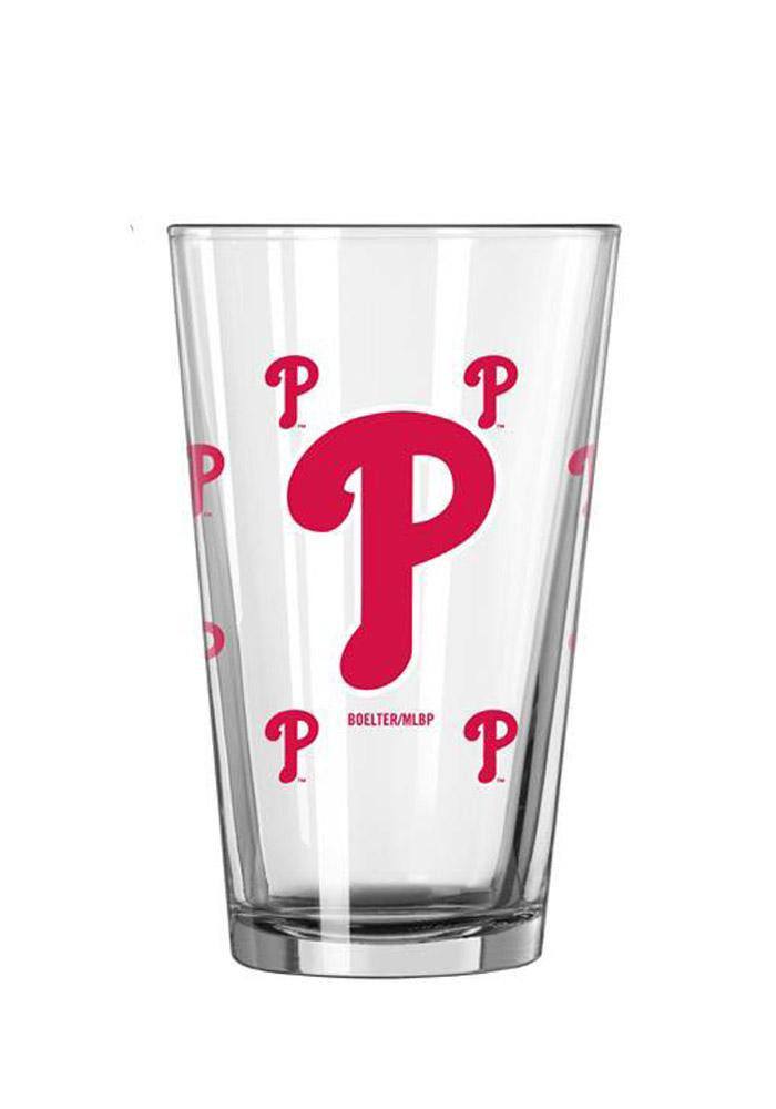 Philadelphia Phillies 16oz Color Change Pint Glass - Image 2
