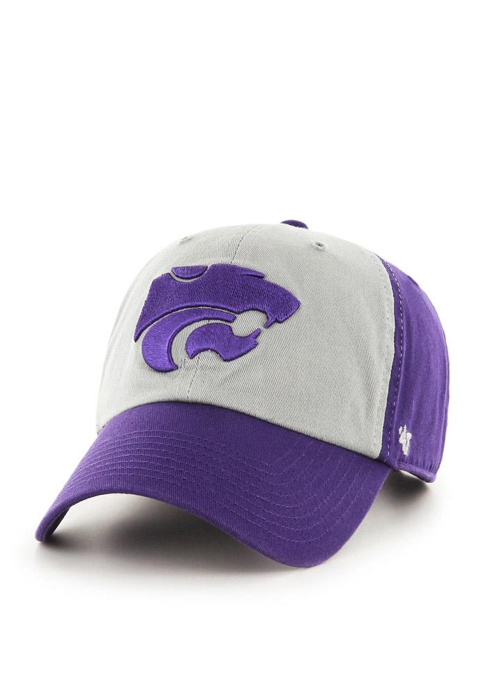 '47 K-State Wildcats Mens Purple Clean Up Adjustable Hat - Image 2