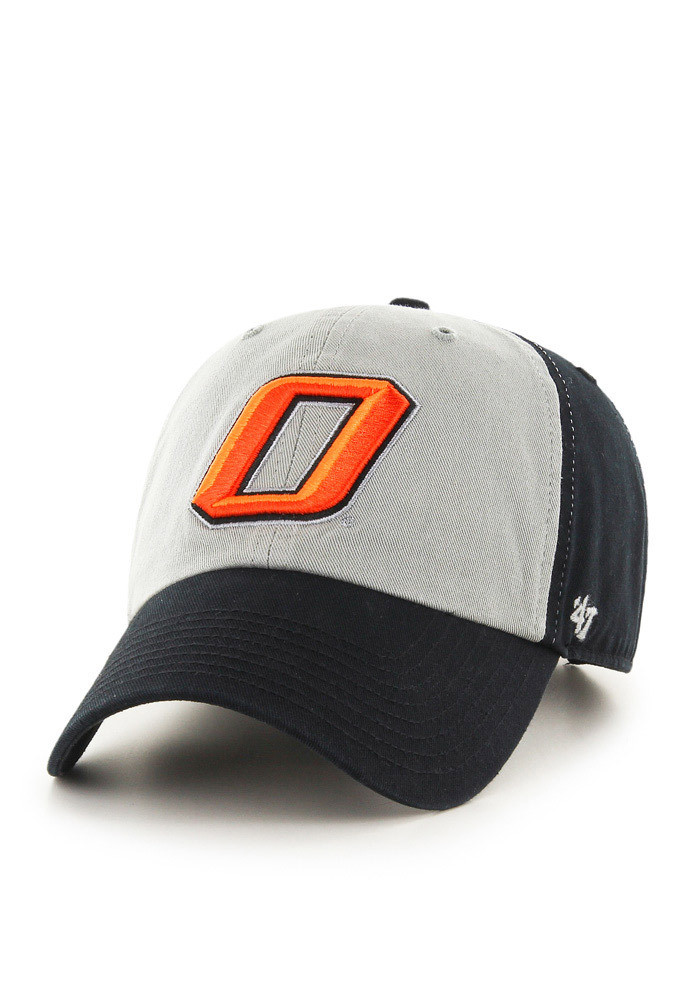 '47 Oklahoma State Cowboys Mens Black Clean Up Adjustable Hat - Image 1