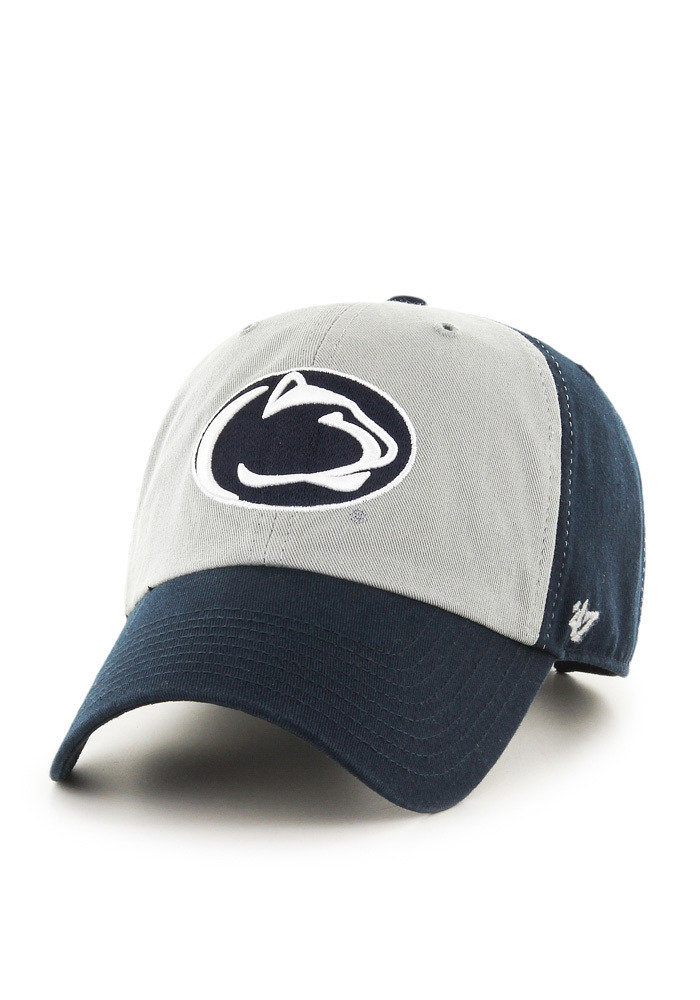 47 Penn State Nittany Lions Clean Up Adjustable Hat - Navy Blue - Image 1