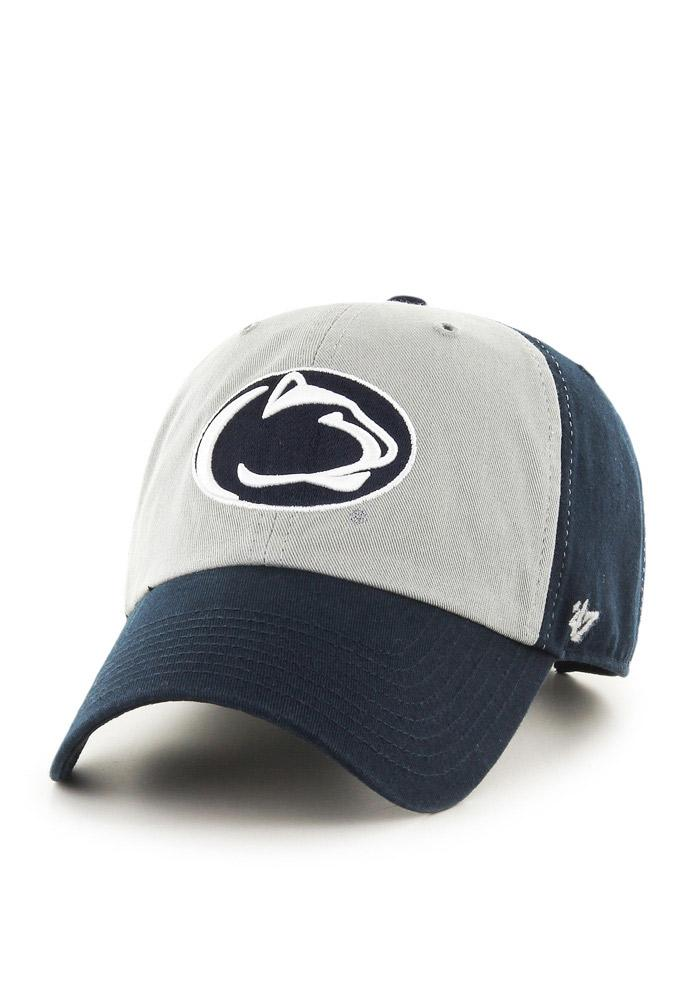 47 Penn State Nittany Lions Clean Up Adjustable Hat - Navy Blue - Image 2