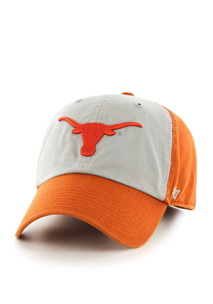 cheap for discount 9de9f 5bc79 ... where to buy 47 texas longhorns mens orange clean up adjustable hat  image 1. e7a7f