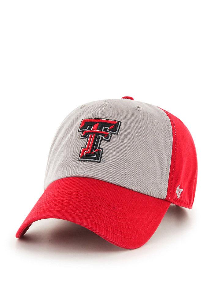 '47 Texas Tech Red Raiders Mens Red Clean Up Adjustable Hat - Image 1