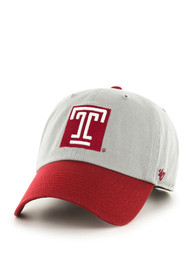 47 Temple Owls Clean Up Adjustable Hat - Grey