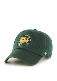 Wright State Raiders 47 Clean Up Adjustable Hat - Green