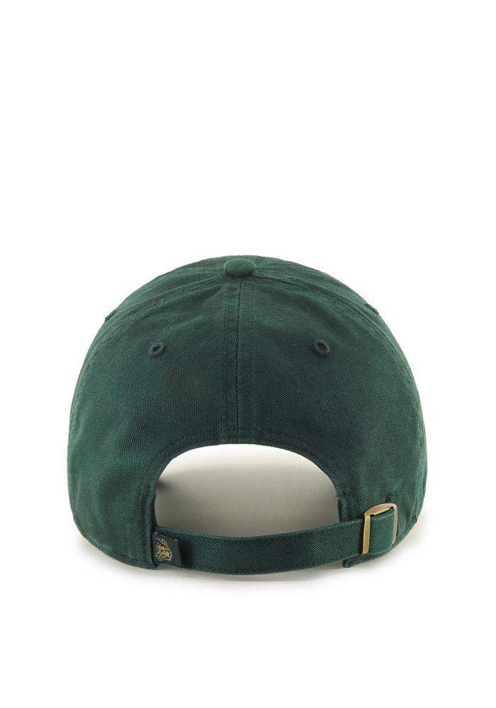 '47 Wright State Raiders Mens Green Clean Up Adjustable Hat - Image 2