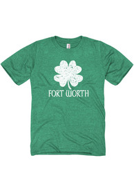 Fort Worth Splatter Shamrock Short Sleeve T Shirt