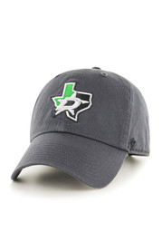 47 Dallas Stars Clean Up Adjustable Hat - Charcoal