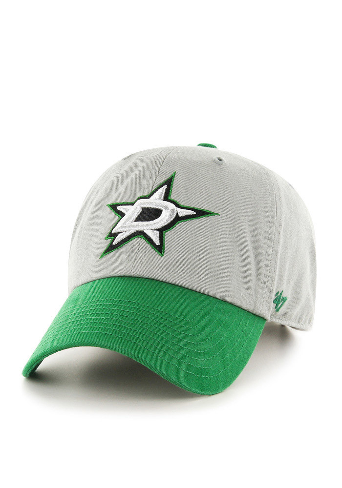 '47 Dallas Stars Mens Grey Clean Up Adjustable Hat - Image 1