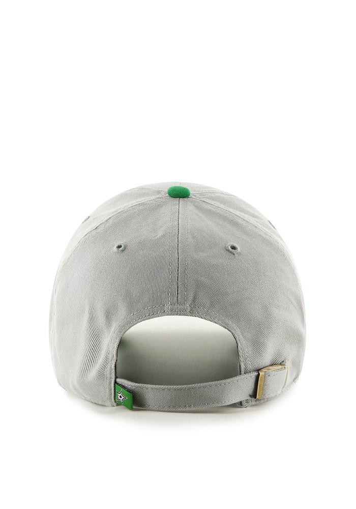 '47 Dallas Stars Mens Grey Clean Up Adjustable Hat - Image 3