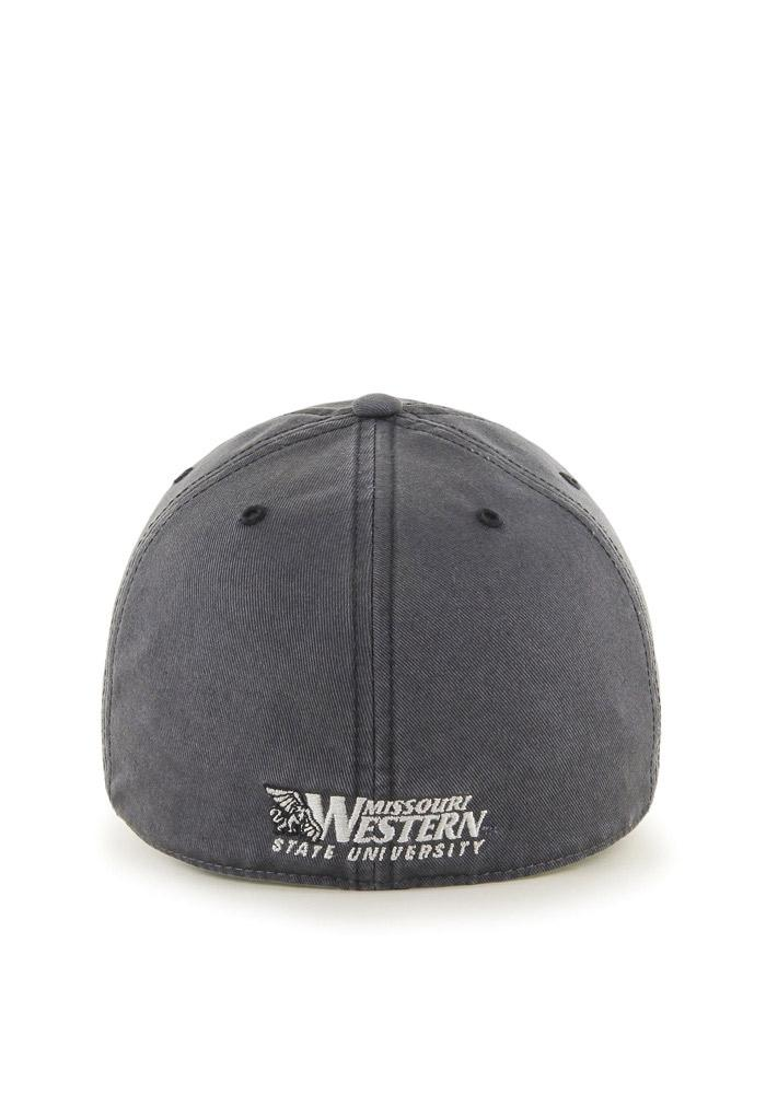 '47 Missouri Western Griffons Mens Grey `47 Franchise Fitted Hat - Image 2