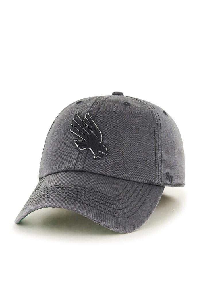 '47 North Texas Mean Green Mens Grey Sachem Franchise Fitted Hat - Image 1
