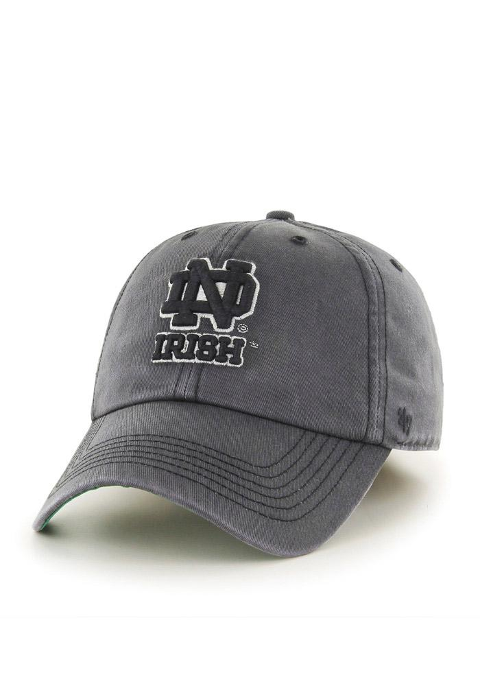 '47 Notre Dame Fighting Irish Mens Grey `47 Franchise Fitted Hat - Image 2