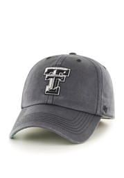 TTech Red Raiders Mens charcoal Sachem Franchise Fitted Hat