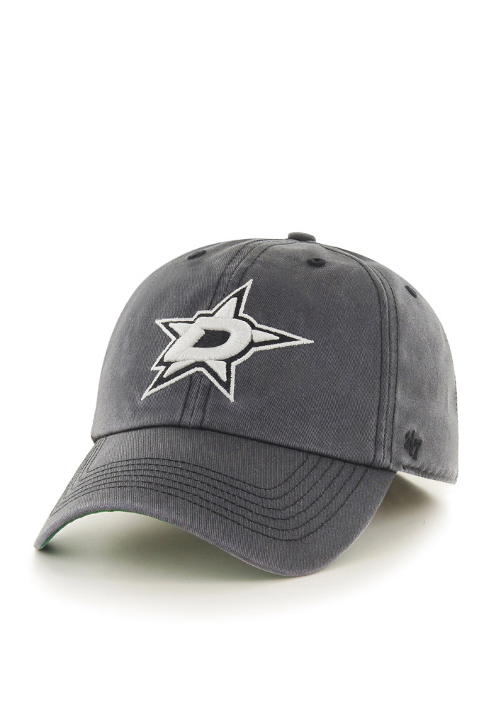 '47 Dallas Stars Mens Grey Sachem `47 Franchise Fitted Hat - Image 1