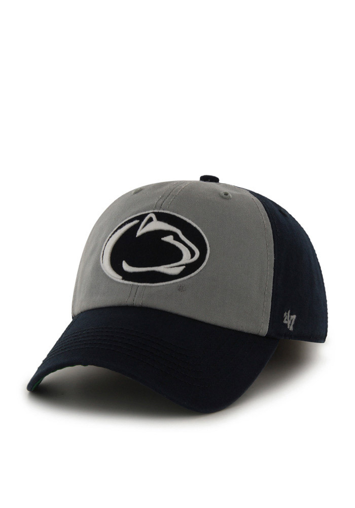 47 Penn State Nittany Lions Mens Navy Blue Franchise Fitted Hat - Image 1