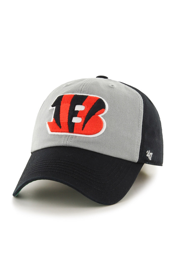 Cincinnati Bengals 47 Sophomore Franchise Fitted Hat - Black