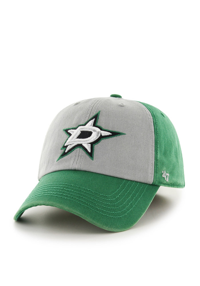 47 Dallas Stars Mens Green Sophomore `47 Franchise Fitted Hat - Image 1