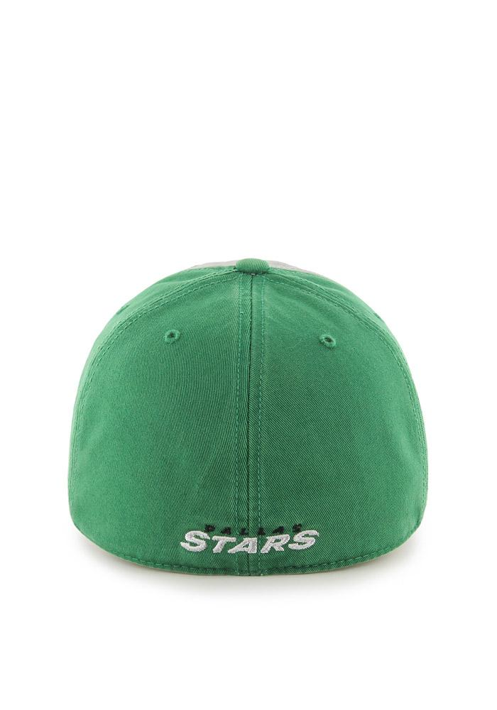 47 Dallas Stars Mens Green Sophomore `47 Franchise Fitted Hat - Image 2