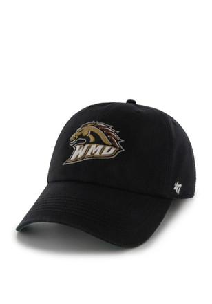 WMU Broncos '47 Mens Black `47 Franchise Fitted Hat