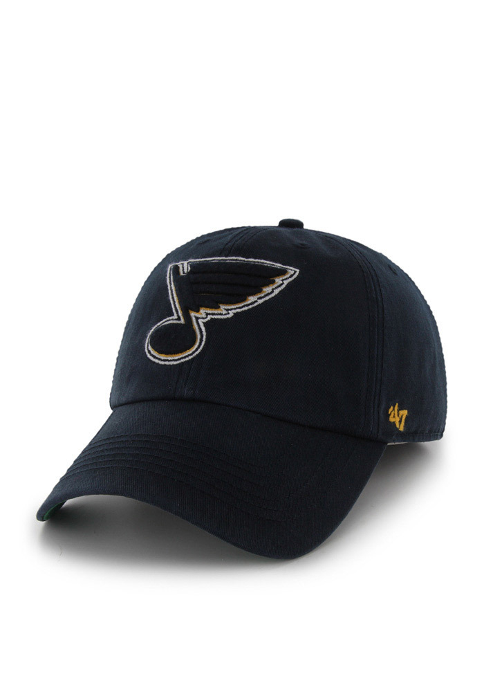 save off 90654 ec95f ... wholesale 47 st louis blues mens navy blue 47 franchise fitted hat  image 1. 0be2f
