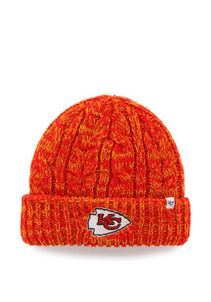 '47 Kansas City Chiefs Womens Red Prima Cuff Knit Hat