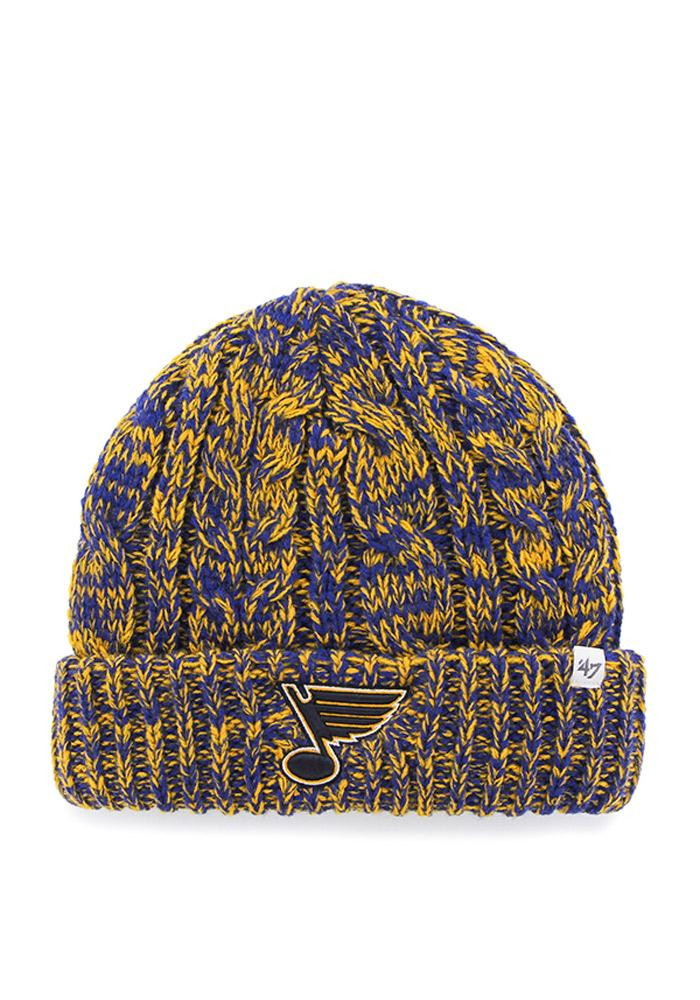 '47 St Louis Blues Blue Prima Cuff Womens Knit Hat - Image 1