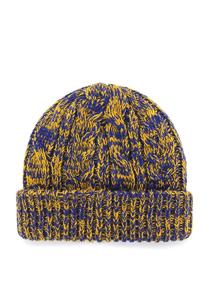'47 St Louis Blues Blue Prima Cuff Womens Knit Hat - Image 2