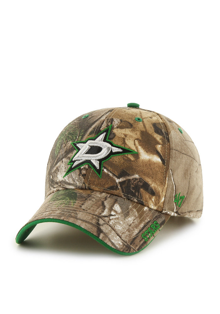 47 Dallas Stars Realtree Frost Adjustable Hat - Green - Image 1