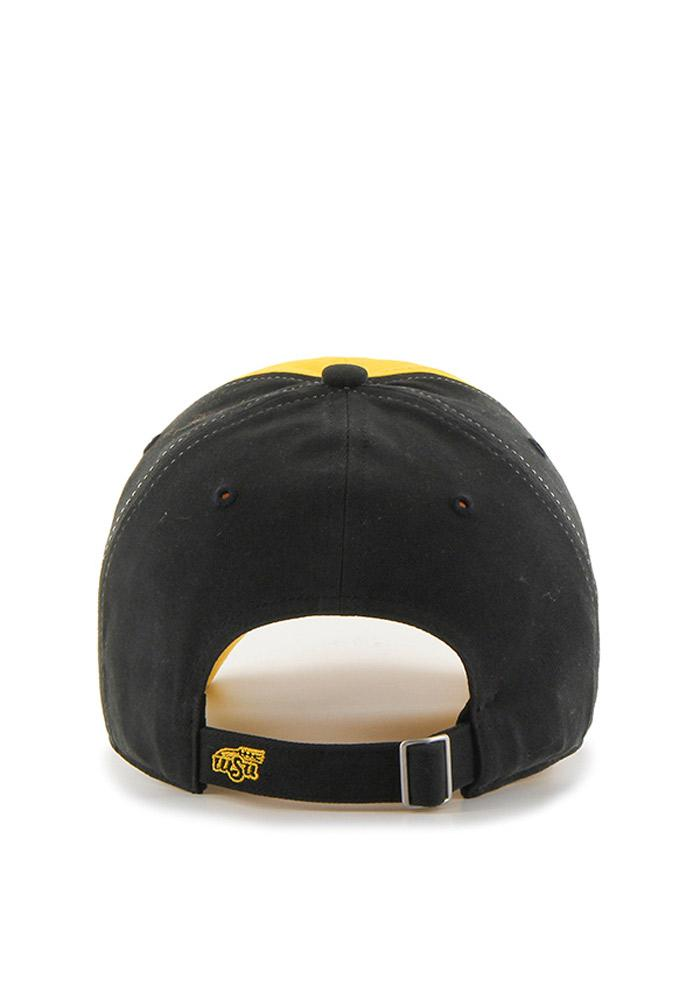 '47 Wichita State Shockers Black Two Tone Sparkle Womens Adjustable Hat - Image 3