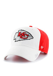 '47 Kansas City Chiefs Red Two Tone Sparkle Adjustable Hat