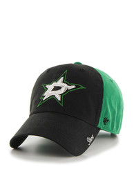 47 Dallas Stars Womens Black Two Tone Sparkle Adjustable Hat