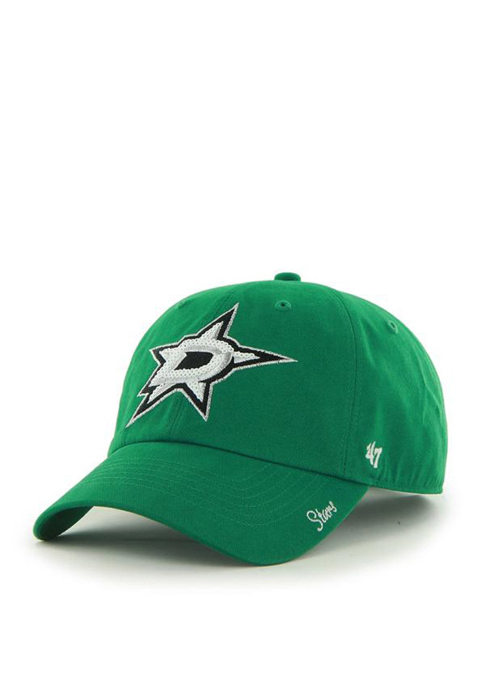 '47 Dallas Stars Green Sparkle Womens Adjustable Hat - Image 1