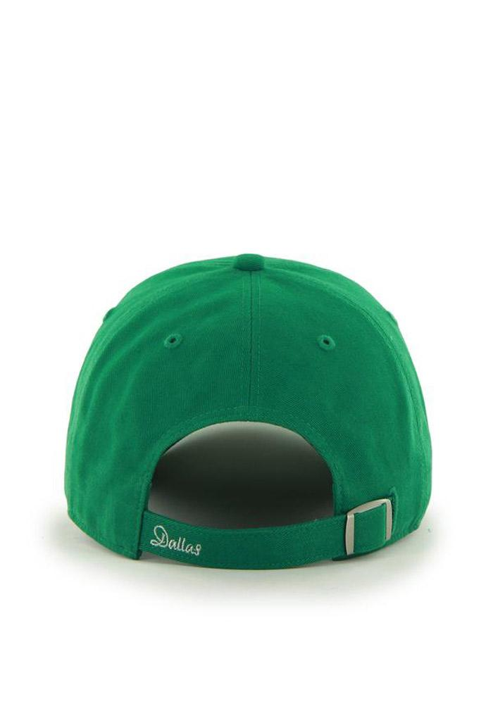 '47 Dallas Stars Green Sparkle Womens Adjustable Hat - Image 3