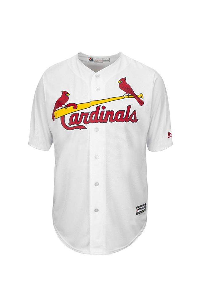 Adam Wainwright 50 St Louis Cardinals Mens White Player Replica Jersey - Image 2