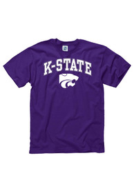 K-State Wildcats Purple Arch Tee