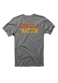 Pitt State Gorillas Grey Nation Tee