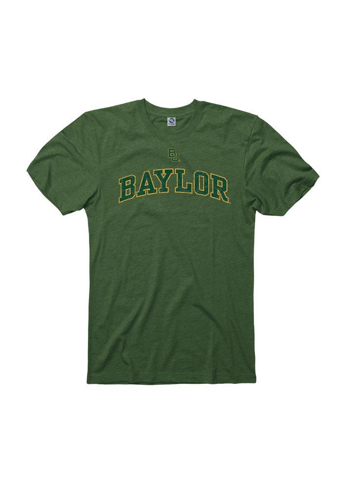 Baylor Bears Grey Arch Short Sleeve T Shirt - Image 1