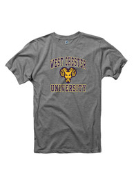 West Chester Golden Rams Grey Big Arch Logo Tee