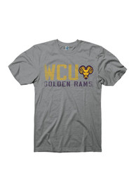 West Chester Golden Rams Grey Vision Sport Tee