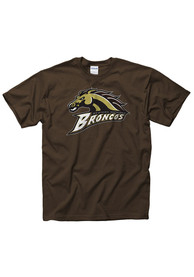 Western Michigan Broncos Brown Big Logo Tee