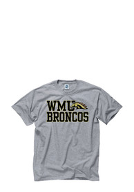 Western Michigan Broncos Grey Slogan Tee