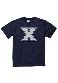 Xavier Musketeers Navy Blue Big Logo Tee