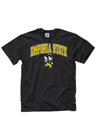 Emporia State Hornets Black Arch Tee