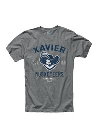 Xavier Musketeers Grey Throwback Tee